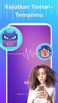 Pengubah Suara Gratis - Perubah Suara Dengan Efek screenshot 3