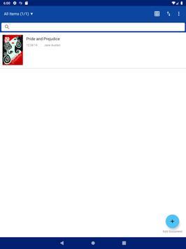 Legere Reader captura de pantalla 3