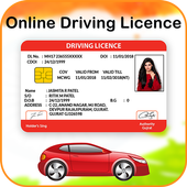 Online Driving License Apply icon