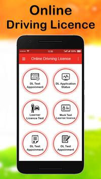 Online Driving License Apply poster