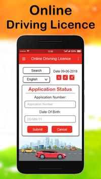 Online Driving License Apply screenshot 2