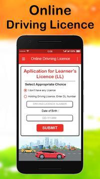 Online Driving License Apply screenshot 3