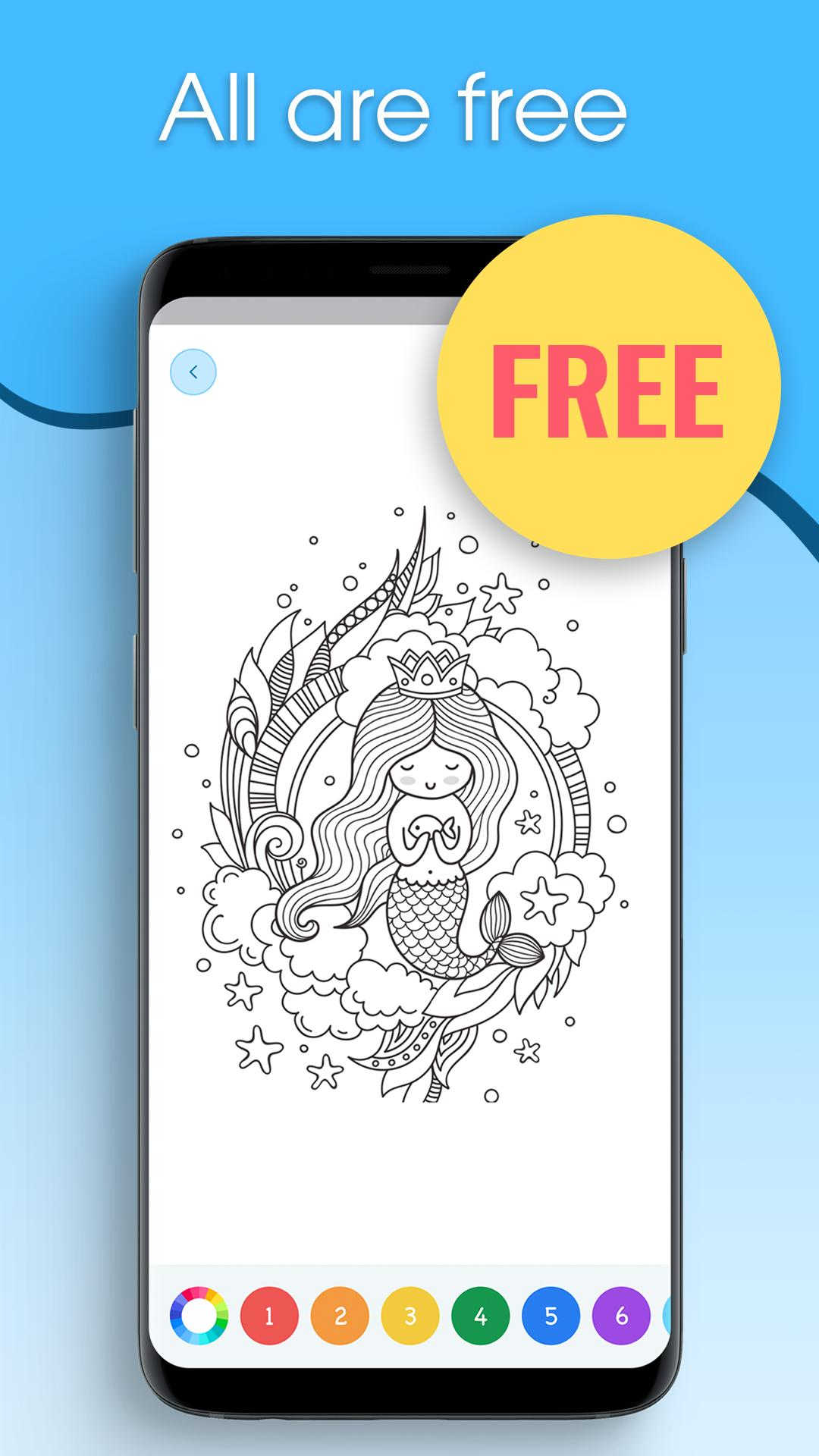🦄 Unicorn Games: Coloring Apps - Recolor App for Android ...