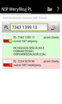 NIP Weryfikuj PL screenshot 1