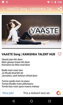 Vaaste Song Videos - Dhvani Bhanushali Songs screenshot 5