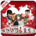 Valentine video maker with music - Photo Slideshow APK