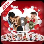 Valentine video maker with music - Photo Slideshow APK