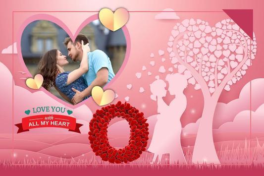 Valentine Day Photo Frame 2019 screenshot 2