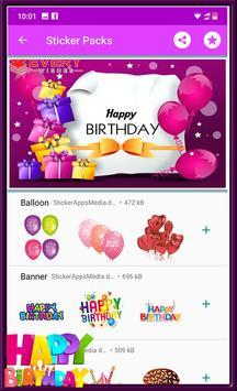 Happy Birthday GIF Stickers screenshot 4