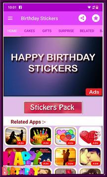 Happy Birthday GIF Stickers screenshot 5