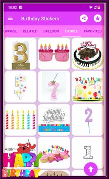 Happy Birthday GIF Stickers screenshot 8