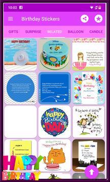 Happy Birthday GIF Stickers screenshot 10
