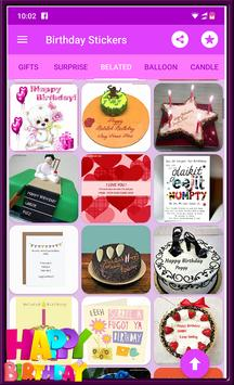 Happy Birthday GIF Stickers screenshot 11