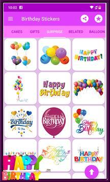 Happy Birthday GIF Stickers screenshot 1