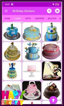 Happy Birthday GIF Stickers screenshot 3
