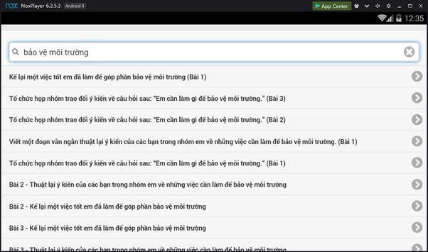Văn mẫu lớp 9 screenshot 2
