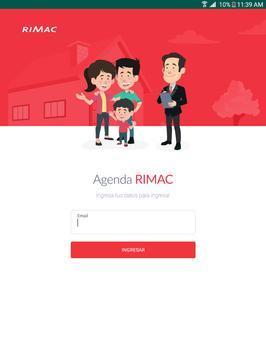 Agenda Rimac poster