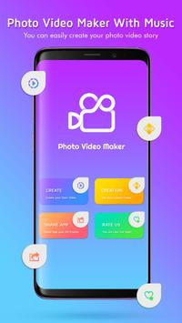 Music Slide Show Maker With Photos poster