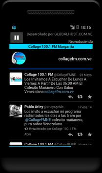 COLLAGE 100.1 FM screenshot 1