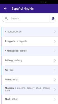 Diccionario screenshot 3