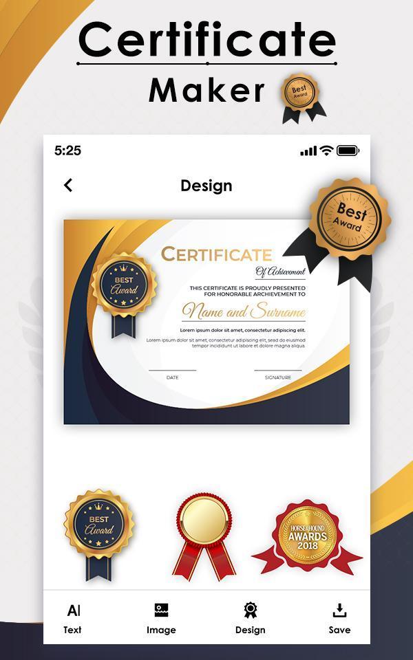 certificate maker apkpure