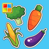 Vegetables Cards (Learn English Faster)