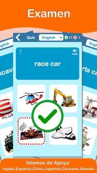 Vehículos y Coches PRO  (Aprendiendo Ingles) captura de pantalla 4