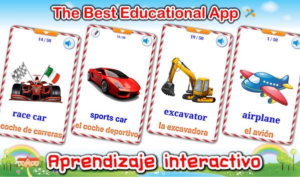 Vehículos y Coches PRO  (Aprendiendo Ingles) captura de pantalla 13