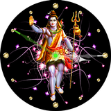God Shiva Clock Live Wallpaper