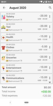 Personal Finance - Money manager, Expense tracker screenshot 1