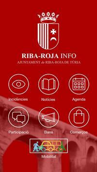 Riba-roja Info poster
