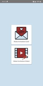 DesignerMe: Marriage Invitation Video & Card Maker poster