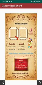 DesignerMe: Marriage Invitation Video & Card Maker screenshot 2