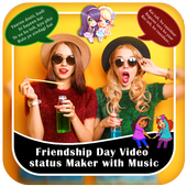 Friendship Day Video Status Maker With Music icon