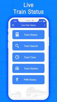 Train PNR Status - Train Live Location poster