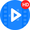 高清视频播放器(媒体播放器) 图标