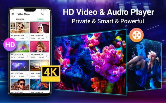 HD Video Player para Android Cartaz