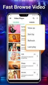 HD Video Player para Android imagem de tela 3