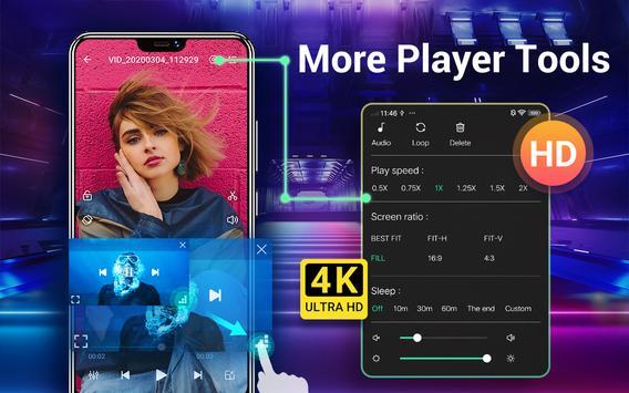 HD Video Player para Android imagem de tela 8