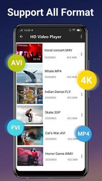 Video  Player - All Format HD Video  Player screenshot 2