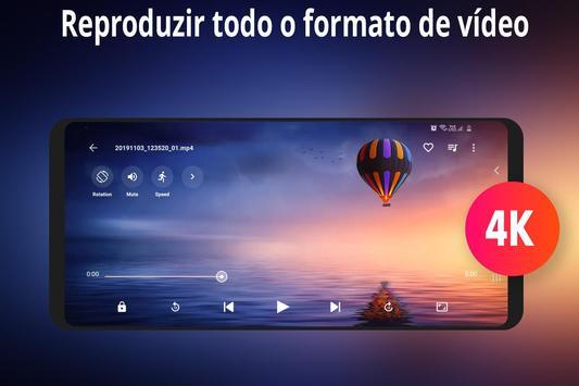 reprodutor de vídeo hd imagem de tela 16