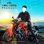 Men Moto Photo Suit icon