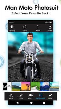 Men Moto Photo Suit screenshot 2
