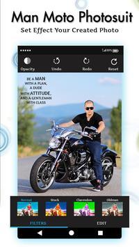 Men Moto Photo Suit screenshot 4