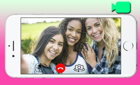 Girls Chat Live Talk - Free Chat & Call Video tips screenshot 1