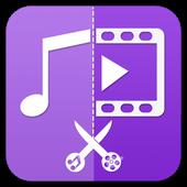Icona Taglierina Audio Video-Tagliare Video, MP3