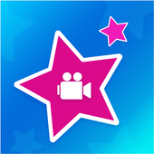 Star Intro Video - Video Maker Of Photos Music icon