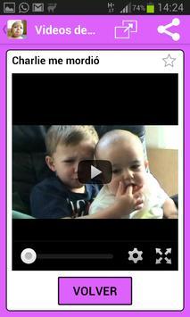 Videos Graciosos para Bebes 2020 captura de pantalla 3