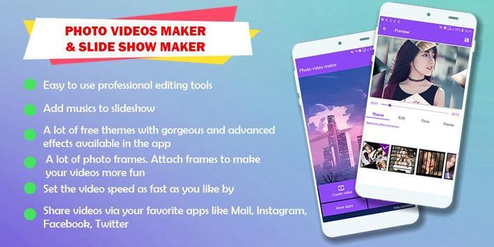 Photo Video Maker & Slideshow Maker poster