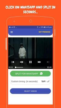 Video  Splitter :- SPLIT and Share Directy screenshot 1